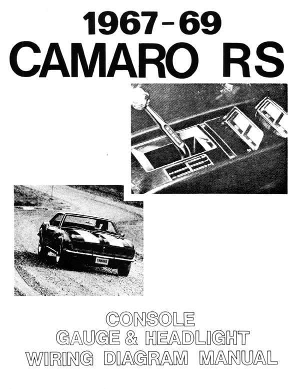 1967 81 Camaro Literature Factory Literature Wiring Diagram Manuals