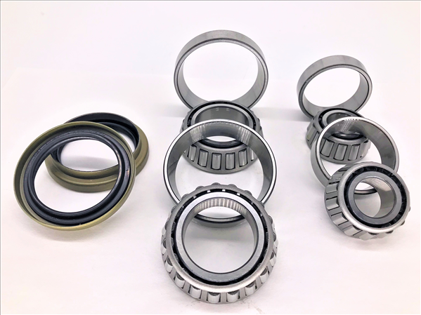 Bearing and seal kit for 1966-1972 models with front disc or 10 drum brakes.
