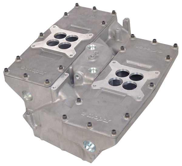 Mopar Perf P5007534 Hemi Cross Aluminum Intake Manifold