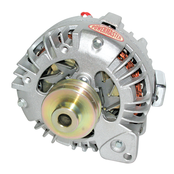 Fine Powermaster 74091 New 75 Amp Alternator Double Pulley One Wire Wiring 101 Archstreekradiomeanderfmnl