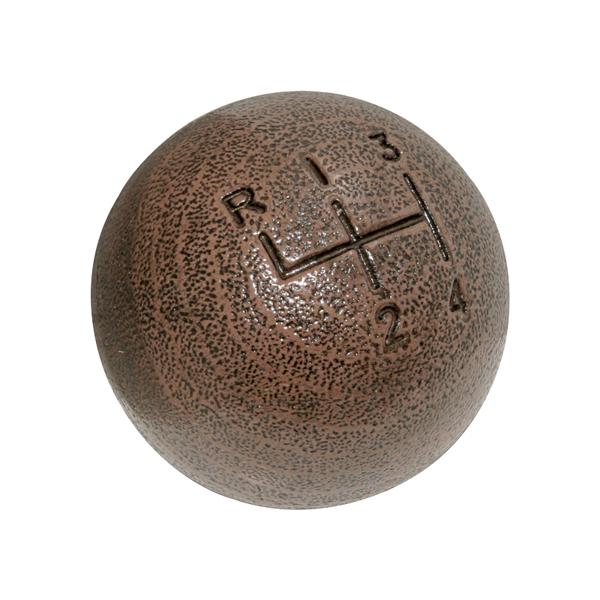 Hurst woodgrain shift knob for mid-1968-1976. 3/8 fine thread. 2950213