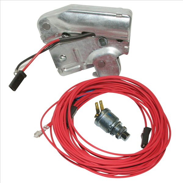 Reproduction power trunk latch kit.