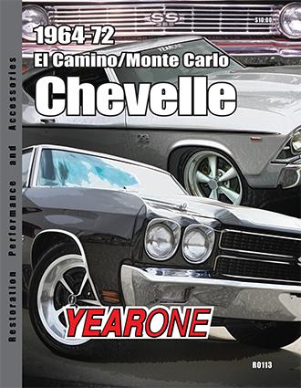 YearOne 1964-1972 El Camino/Monte Carlo Chevelle Print Catalog Online