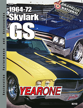 YearOne 1964 to 1972 Skylark GS Print Catalog Online