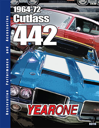 YearOne 1964 to 1972 Cutlass 442 Print Catalog Online