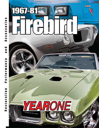 YearOne 1967 to 1981 Firebird Print Catalog Online