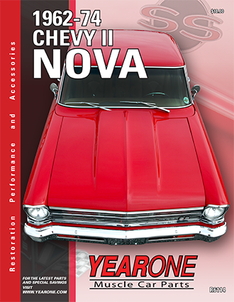 YearOne 1962 to 1974 Chevy II Nova Print Catalog Online