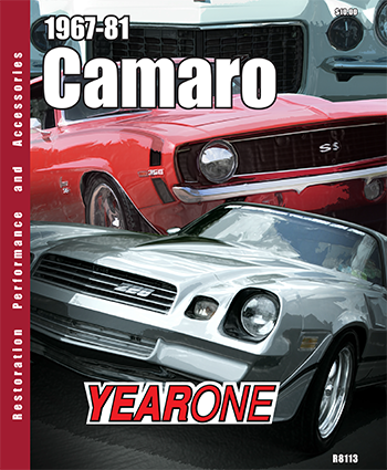 YearOne 1967 to 1981 Camaro Print Catalog Online