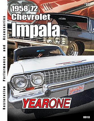 YearOne 1958 to 1972 Chevrolet Impala Print Catalog Online