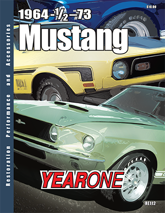YearOne 1964 to 1973 Mustang Print Catalog Online