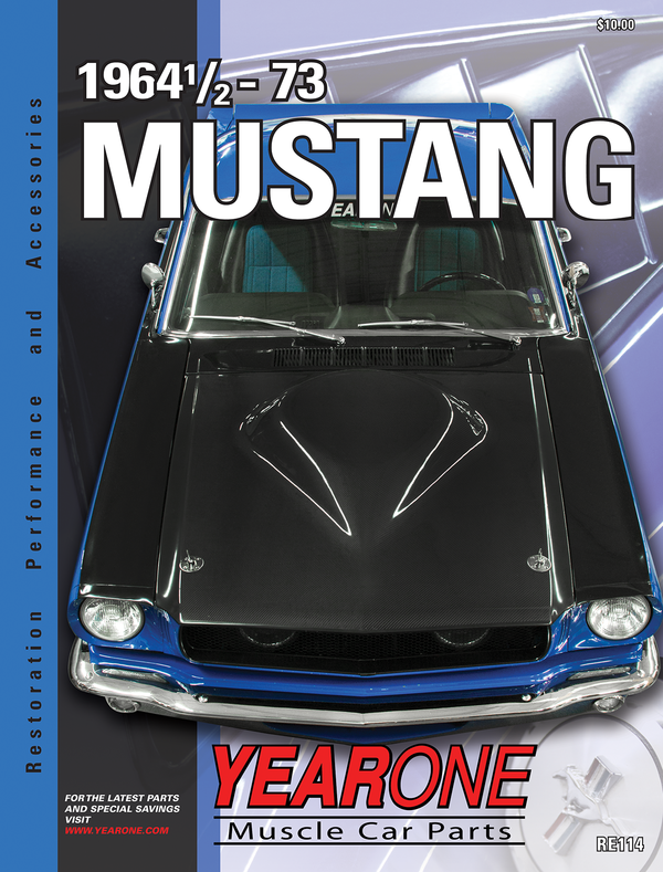 YearOne 1963 to 1974 Mustang Print Catalog Online