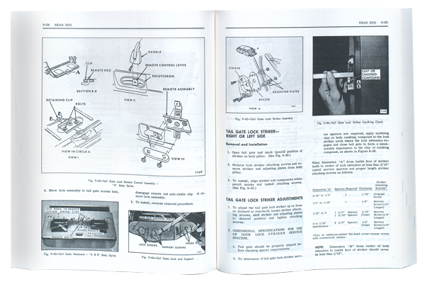 72 1972 Chevy Impala Chevelle Nova Fisher Body Shop Manual