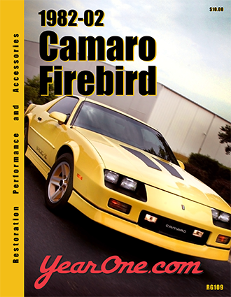 YearOne 1982 to 2002 Camaro Firebird Print Catalog Online