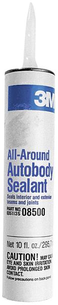 3M auto body sealant, 10-oz cartridge.
