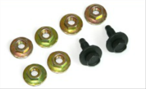 Reproduction seat mounting hardware kit for 1964-1972 GTO models.