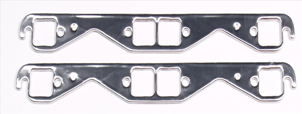 Small block Chevrolet Seal-4-Good Header Flange Gasket set with 1.5 square port.