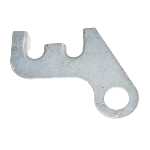 Transmission cooler line bracket for 1966-1971 B- and E-body 383, 440, 440 Six Pack, and Hemi models with A/T.