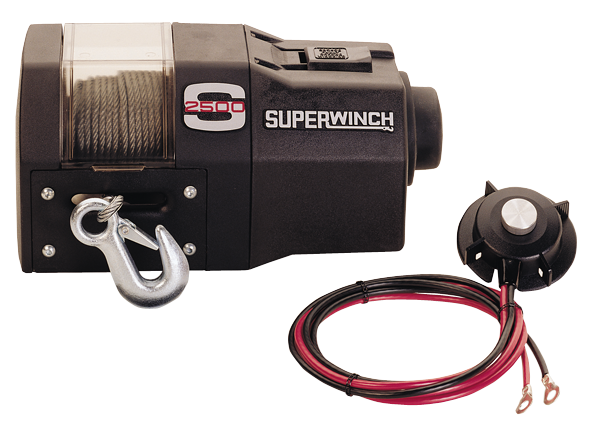 Superwinch S2500 12-volt DC winch with 12hp motor