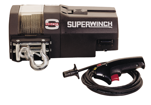 Superwinch S3500 12 volt DC winch with 13 hp motor