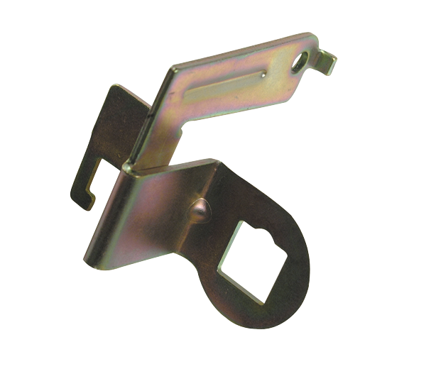 TCI TV cable bracket for use with Holley carburetors.