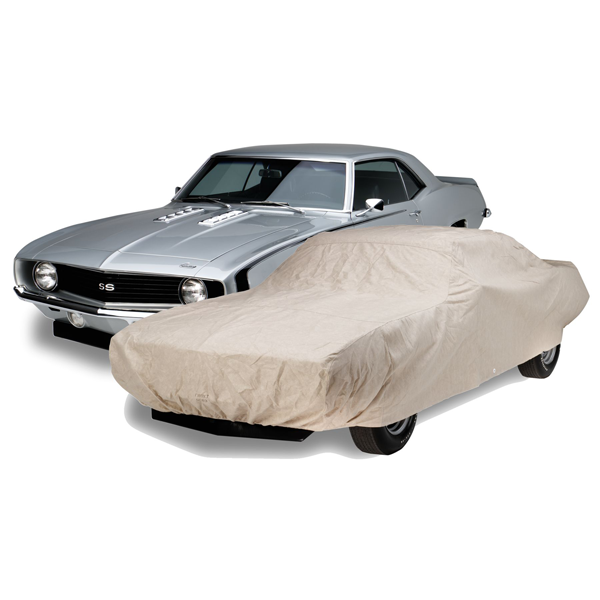 Technalon heavy duty car cover for 1969 Camaro/Firebird models.