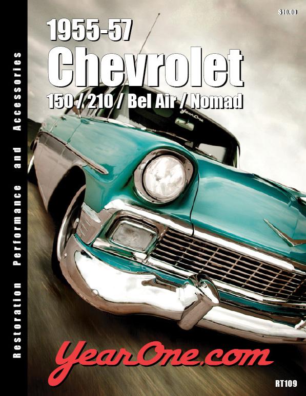 1955 57 Chevy Yearone 1955 1957 Chevrolet Catalog