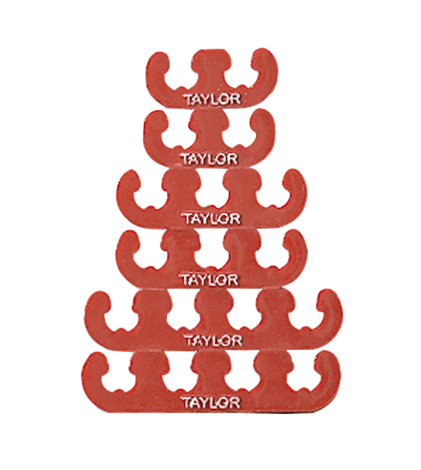 Taylor Cable Products red wire separators. Color : Red