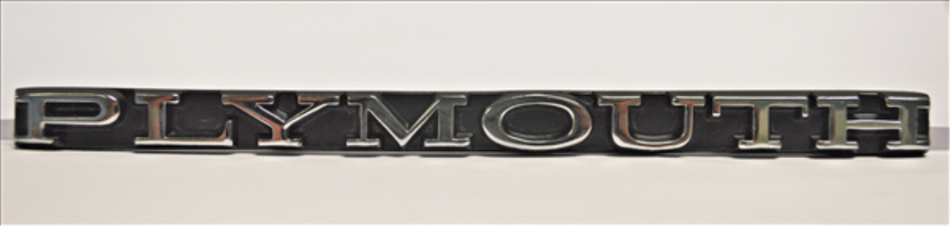 Mopar P3691468 E-Body Emblem