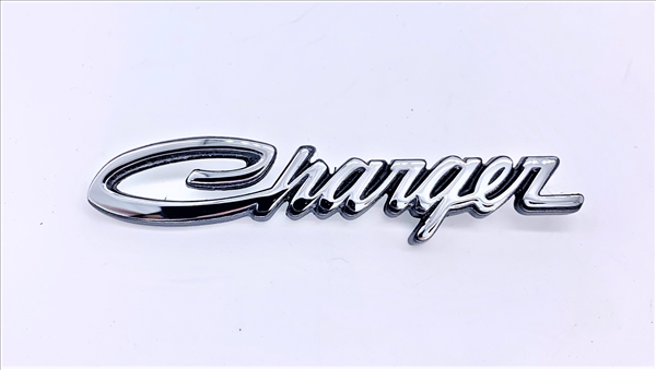 1970 Charger Tail Panel Emblem for use on R/T models.