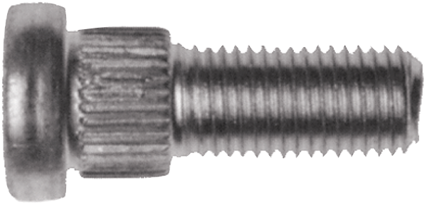 7/16-20 x 1-5/16 front wheel stud for 1967-1968 models with 2-piece hub and rotor disc brakes.