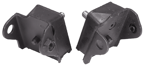 High-performance engine mounts,  1966-1972 B-body, 1966-1974 C-body and 1970-1974 E-body models, fits all V8 engines except 426 Hemi, aftermarket.  NOT FOR WAGONS