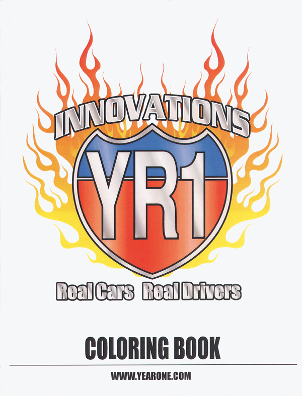 YR1 Innovations coloring book.