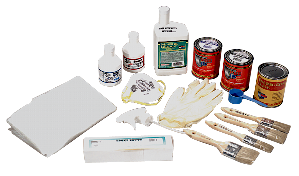 POR-15 rust preventative paint floor pan and trunk