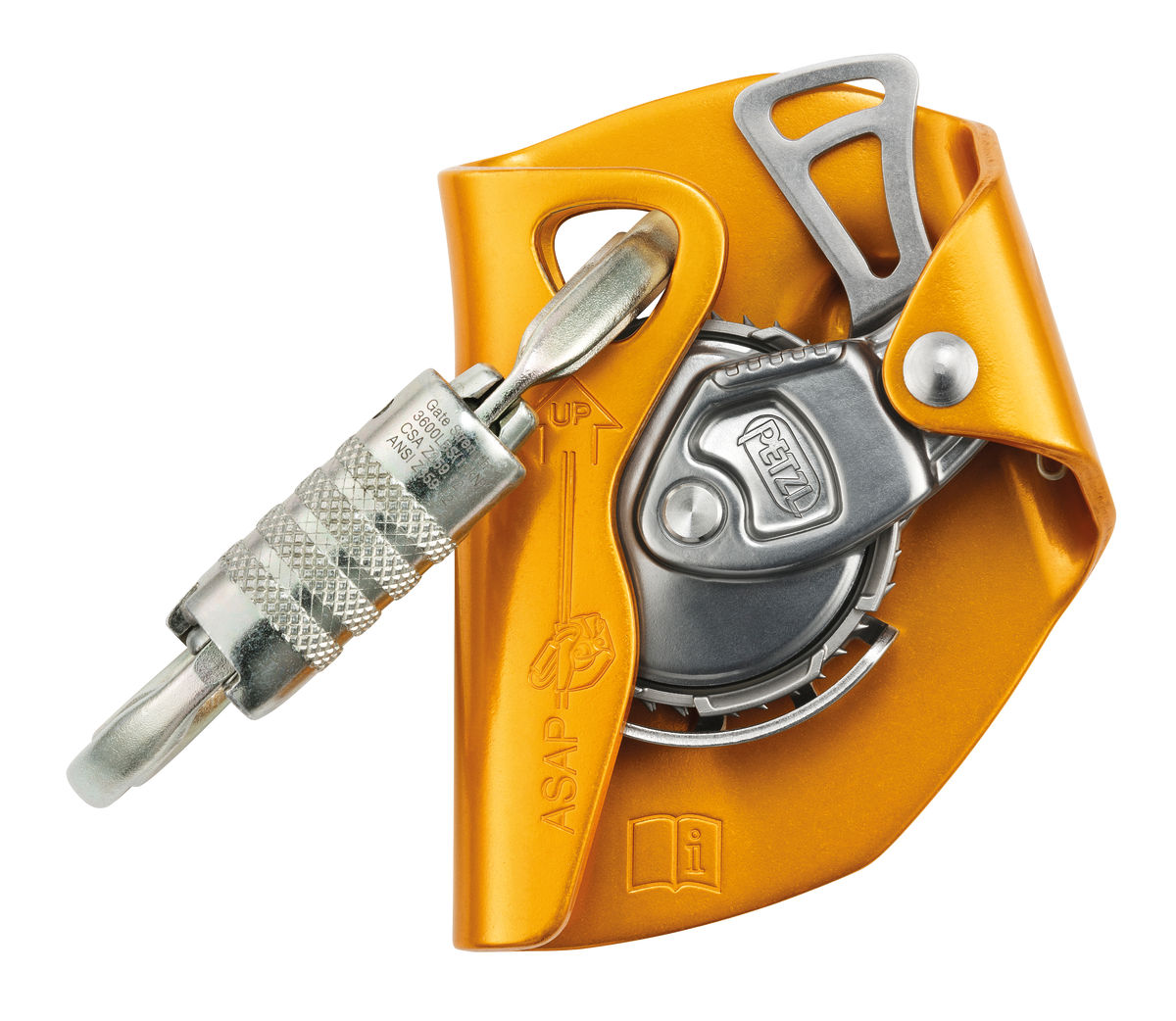 ASAP INTERNATIONAL mobile fall arrester with OXAN carabiner