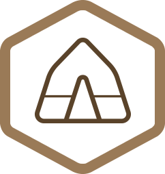 Geauga Park District Camping Icon