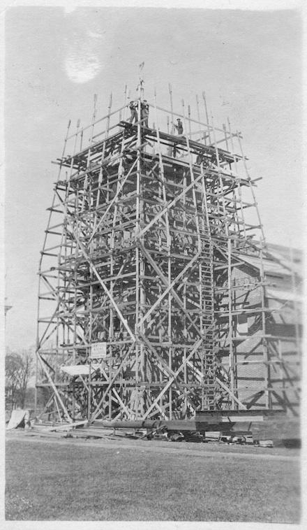 Construction of Chapel