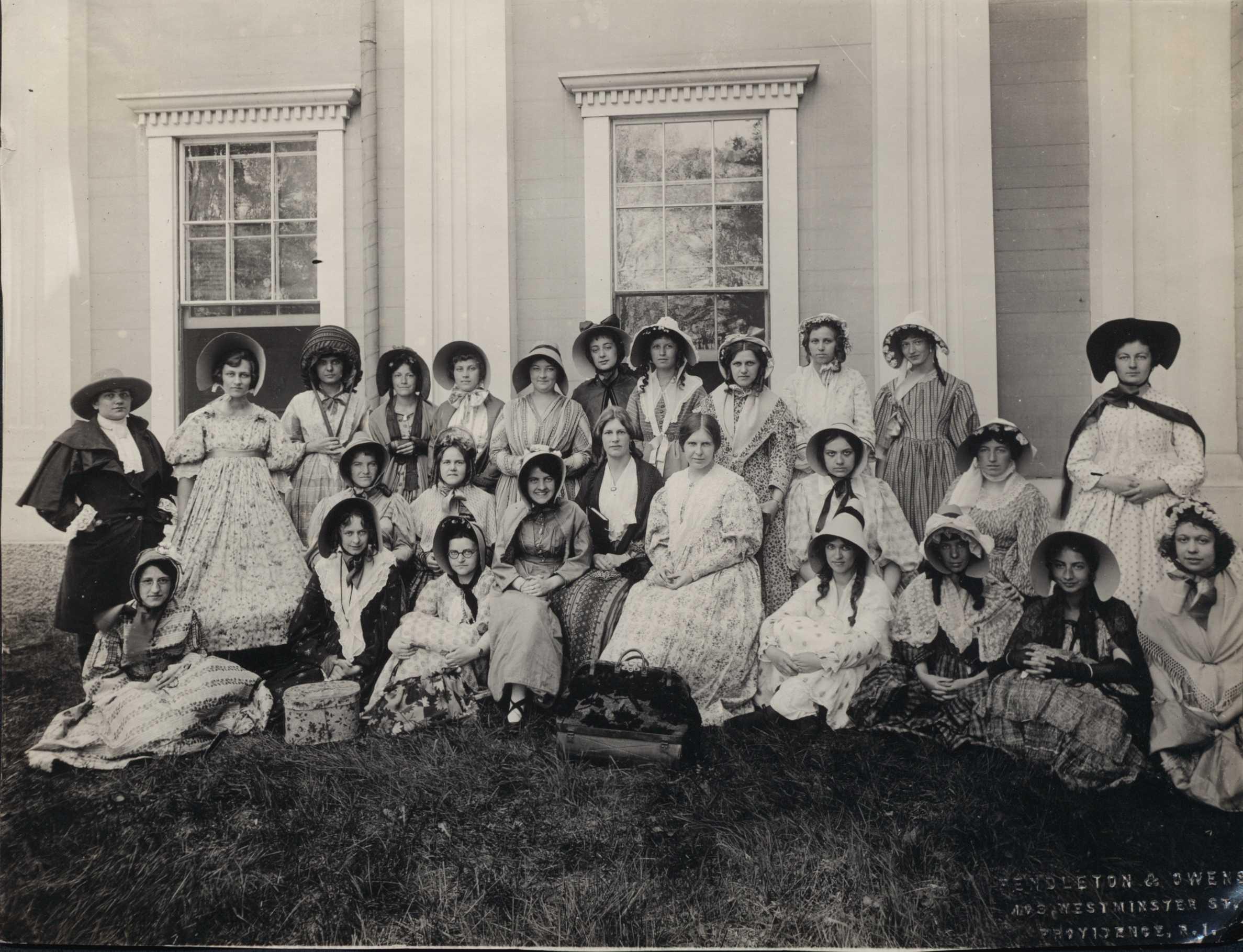May Day Celebration at Wheaton, 1920