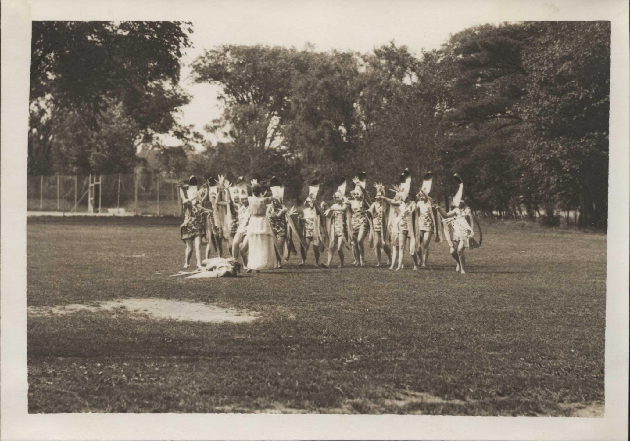 Celebrating May Day 1931