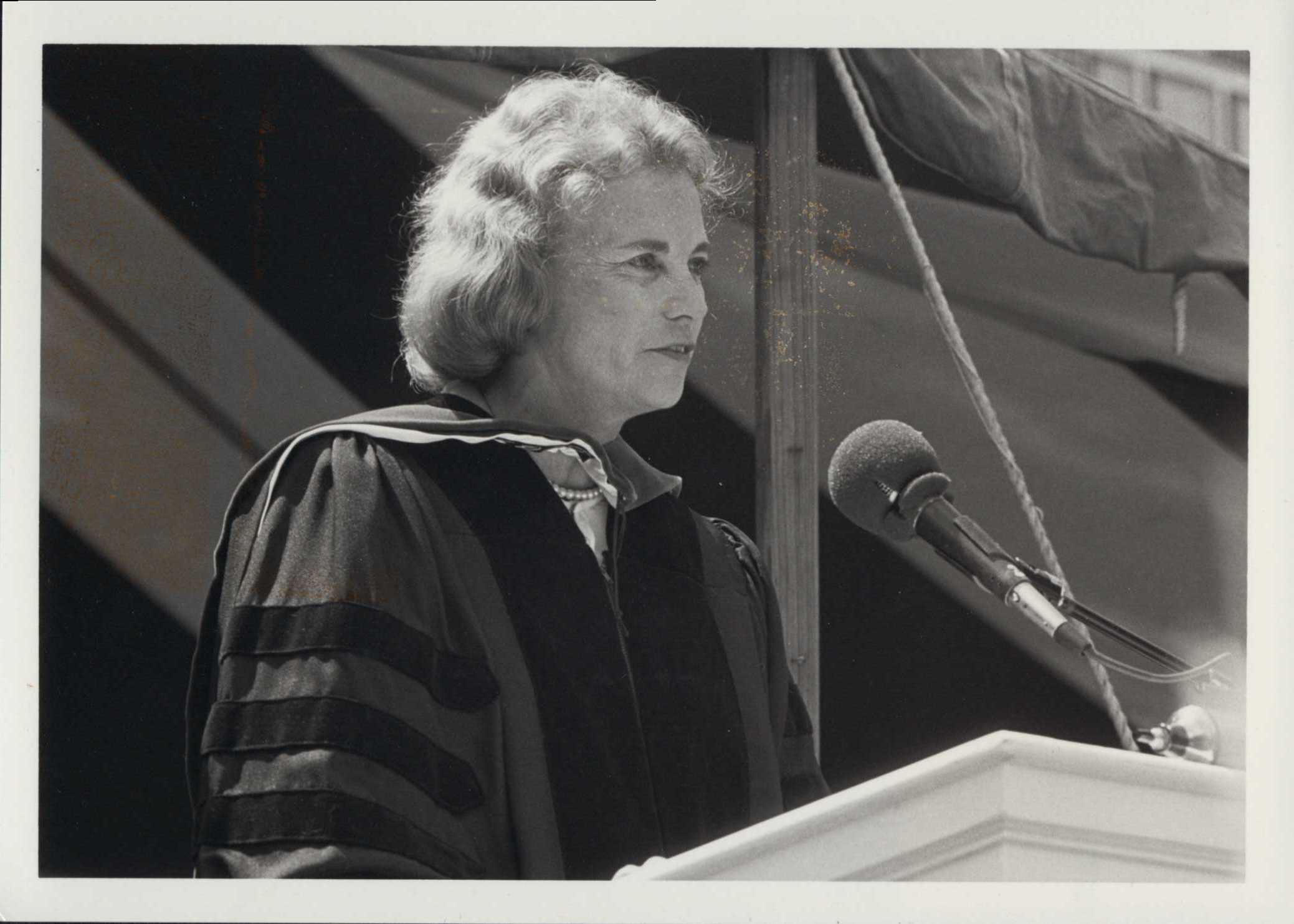 Sandra Day O'Connor at Wheaton