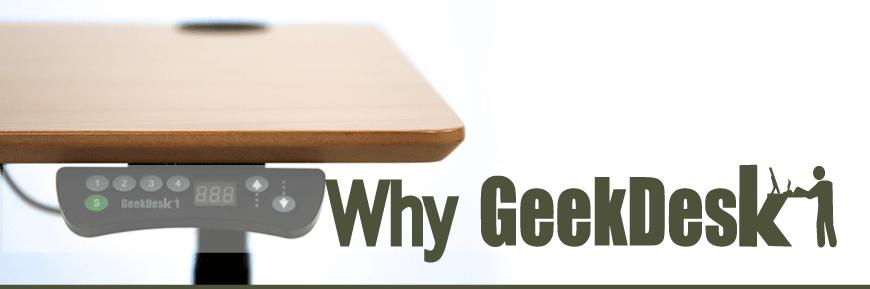 Why Geekdesk?
