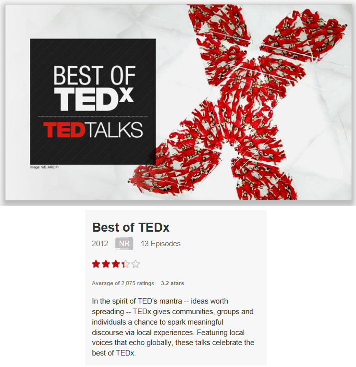 On Netflix Canada: Best of TEDx