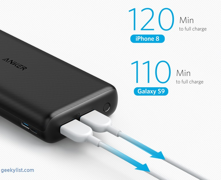Anker PowerCore Lite 20000 Power Bank (AK-A1269011)