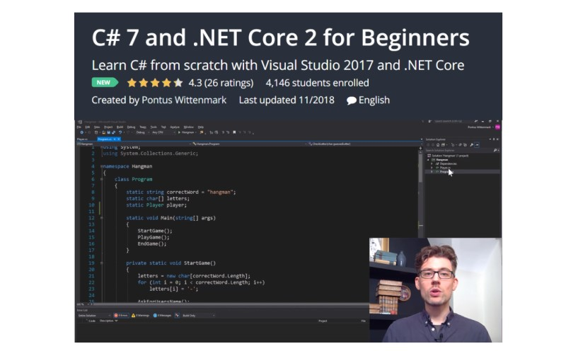 C# 7 and .NET Core 2 for Beginners By Pontus Wittenmark
