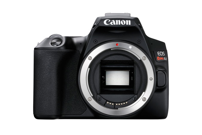 Canon EOS Rebel SL3 Body (3453C001) DSLR camera