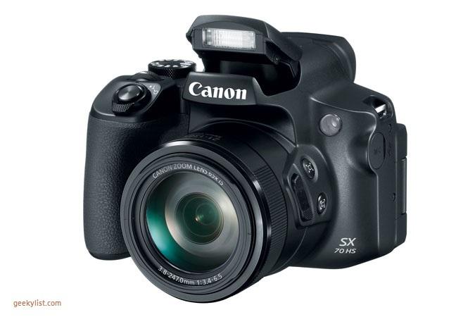 Canon PowerShot SX70 HS Point & Shoot digital camera