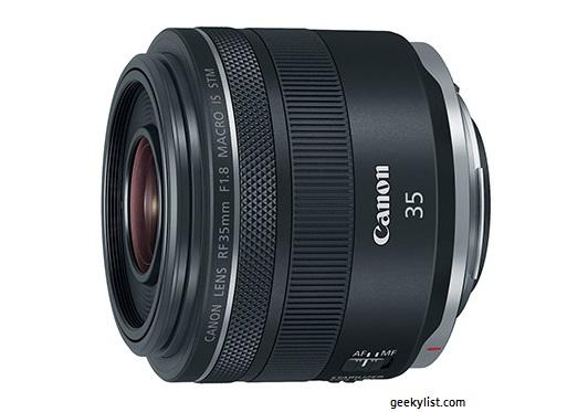 Canon RF 35mm Mirror Camera Macro lens (F1.8 IS STM)