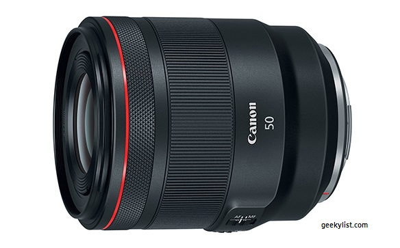 Canon RF 50mm Mirrorless Camera Lens F1.2 L USM