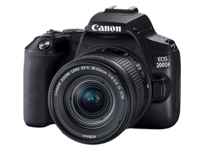 Canon EOS 200D II DSLR Camera with EF-S 18-55mm Lens