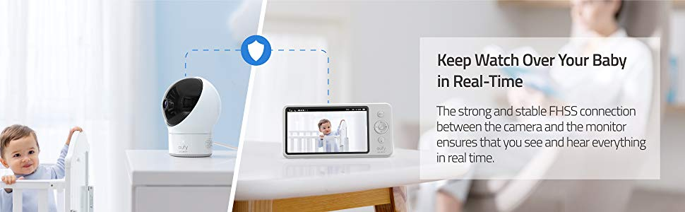 Eufy Spaceview Baby Monitor (AK-T83001D1)