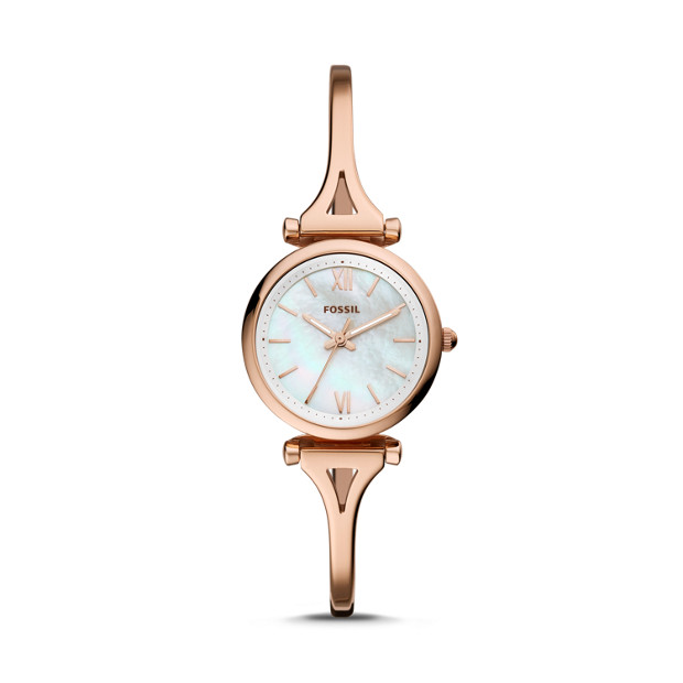 Fossil Carlie Mini (ES4500P) Rose Gold-Tone Women's Watch